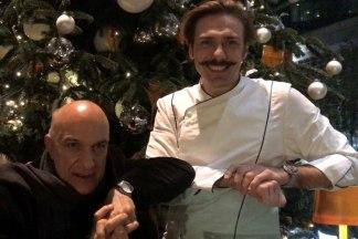 a-tavola-con-massimo-donà con lo chef STEFANO GRANDI