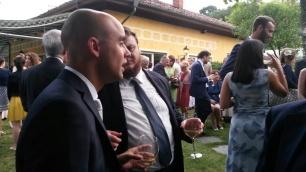 Alfredo Gatto e Davide Grossi a Saluzzo (matrimonio di GATTO)