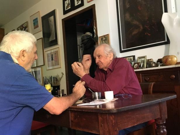 Antonio Gnoli intervita ITALO ZANNIER alla Giudecca