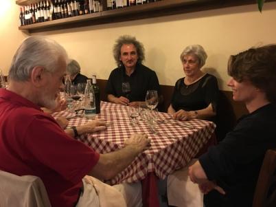 CARLO INVERNIZZI, DAVIDE MOGETTA, FRANCESCO CASTELLANI... e la moglie di Carlo a MILANO
