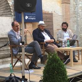 DAVIDE GROSSI ad AMELIA nel 2017 con GENNARO CARILLO e VITTORIO CELOTTO