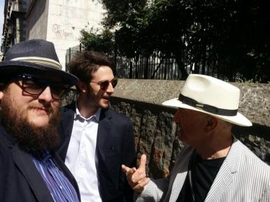 Davide GROSSI, Giulio GORIA e MASSIMO DONA' a NAPOLI