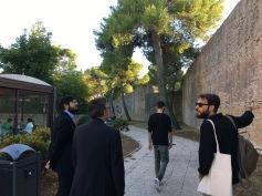 Durante EK-STATICA 2017 - Filippo Cicoli, Tommaso Romolotti, Giuseppe Girgenti e Filippo Moretti
