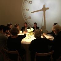 Filippo Moretti, Davide Mogetta e Federico CRoci a casa di ALI FARAHZAD durante una cena persiana (a MILANO)