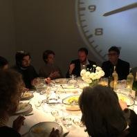 Filippo MOretti, Davide Mpgetta e Federico Croci, a casa di ALI FARAHZAD a Milano