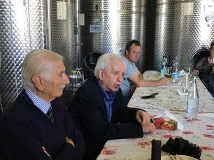 FLAMINIO DE MARTIN, TONI TONIATO e GIUSEPPE LIESSI a REFRONTOLO