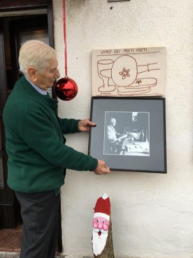 FLAMINIO foto e opera dell'artista CONSAGRA (San PIetro di FELETTO)
