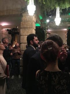 GIacomo Petrarca alla festa nella villa della torre durante il VINITALY del 2017