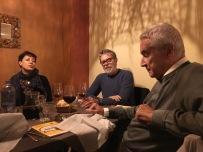 GIORELLO e il mitico SILVER (di Lupo Alberto) a Mestre a cena durante il festival della politica