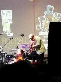Il massimo donà trio al festival jazz di roccella jonica nel 2017 (ospite FRANCESCO BEARZATTI)
