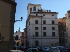 La casa di Roma in cui abitava il filosofo Andrea Emo con la famiglia