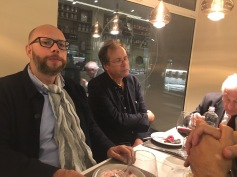 Luca Taddio, MAURIZIO FERRARIS, e Vincenzo Vitiello a Mestre durante il festival della politica (2017)