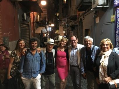 Massimo DONA' a NAPOLI con i simpaticissimi amici del FESTIVAL DI FILOSOFIA DELLA MAGNA GRECIA