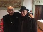 Massimo Donà con FRANCO FONTANA a Firenze il 29 dicembre 2017