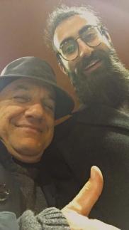Massimo Donà con lo studente NICOLA CIRULLI