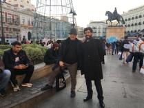 Massimo Donà e Francesco Valagussa a Madrid (novembre 2017)