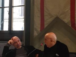 Massimo Donà e Franco Fontana a FIRENZE il 29 dicembre 2017