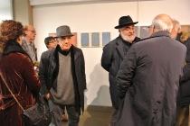 Massimo Donà e LUIGI VIOLA alla mostra di VINCENZO CECCHINI a Zianigo (Novembre 2017)