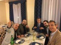 Massimo Donà, Luca Taddio, ARNALDO COLASANTI, GABRIELE GIACOMINI e Giovanni BONIOLO a FRASCATI