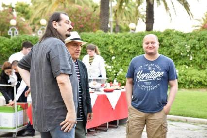 Massimo Donà, Marco Bruni eMARCO BRAGAGLIA a san benedetto del tronto (POPSOPHIA=