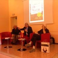 Massimo Donà, Vittorio Sgarbi e Antonio Gnoli a VALDONBBIADENE nel 2015