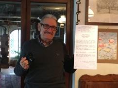 Michele Zaggia in casa di FLAMINIO e LIA