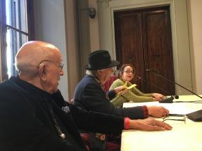 Responsabile Fondazione ALINARI, Franco FOntana e ITALO ZANNIER a FIRENZE - dicembre 2017