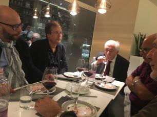 Taddio, Ferraris, Vitiello, Marramao e Gnoli nel 2017 a MESTRE
