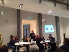 Tavola rotonda sulla mostra di CIUSSI - con Massimo Donà, Claudio Cerritelli, Francesca Pola, Carlo Invernizzi e altri