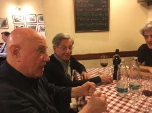 TOMMASO TRINI con il, FIGLIO DI F. MORELLET... e EPICARMO INVERNIZZI