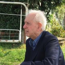 Toni Toniato nel giardino della famiglia DE MARTIN (sede del CLAN VERDURIN) a San Pietro di Feletto (TV)