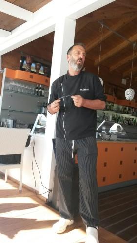 Un grande amico e un grande chef... GINO, titolare di un fantastico ristorante ad ASCEA MARINA (lo SCIABECCO)