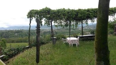 Una veduta dal giardino di casa De Martin (CLAN VERDURIN)