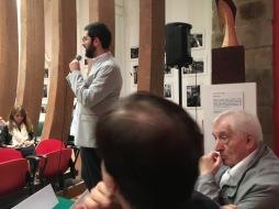 Vincenzo Vitiello ascolta Antonio Branca a SAVOCA