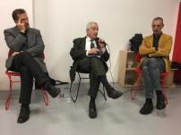 Vincenzo Vitiello con GIovanni Leghissa e Andrea Zhok al MIMESIS FESTIVAL (a Udine nell'ottobre del 2017)