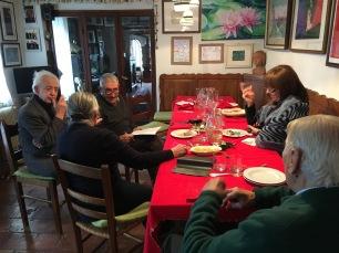 Zaggia, Toniato, Lia, Cecilia e FLAMINIO a SAn Pietro di Feletto ( a casa di LIA e FLAMINIO)