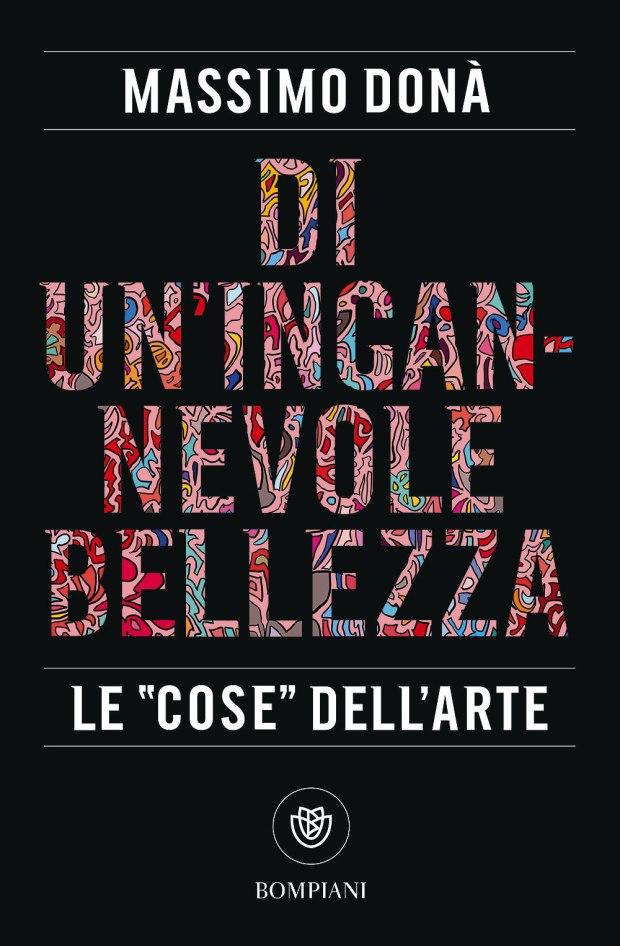 Massimo Donà COPERTINA di DI UN'INGANNEVOLE BELLEZZA (Bompiani)