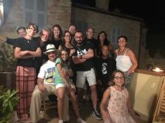 Foto di gruppo a CIVITANOVA con SIMONE e altri amici