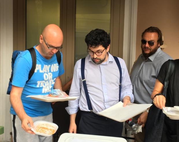Davide Morris e VINCENZO a SANTARCANGELO DI ROMAGNA luglio 2019