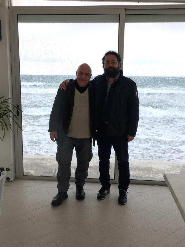 Massimo Donà e LUCA NOLASTO nella terra di Parmenide (aprile 2019)