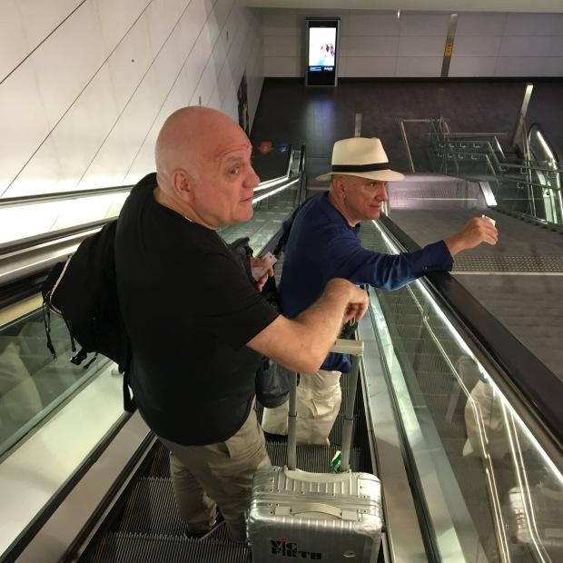 Nella stazione del metro di BRESCIA... forse nel 2018