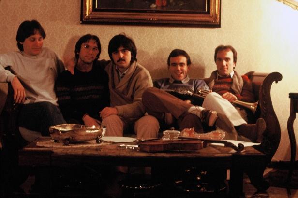 Massimo Donà con i JAZZ FORMS (Davide Ragazzoni, Maurizio Caldura, Giko Pavan e Bruno Cesselli)